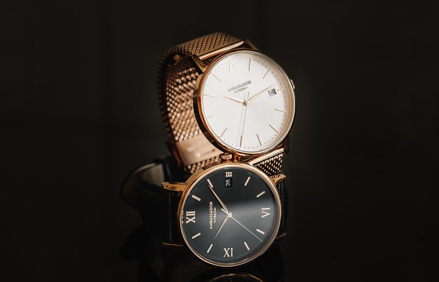 two quartz watches