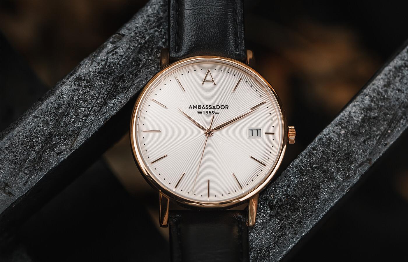gold luxury watch