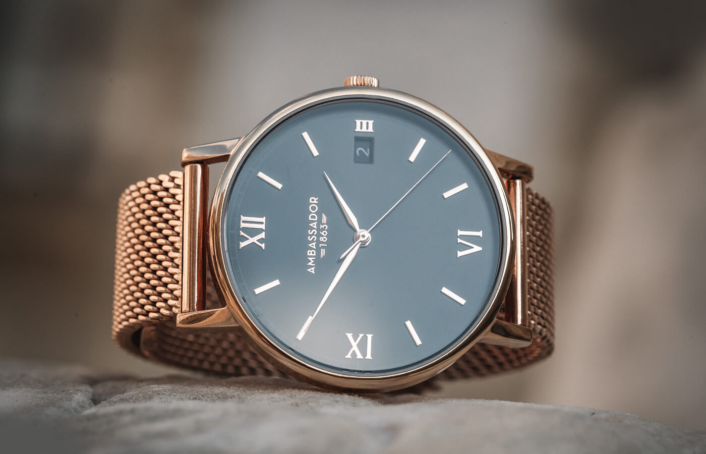 Heritage 1863 gold watch