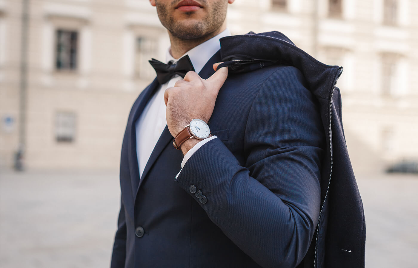 men with wrist watch