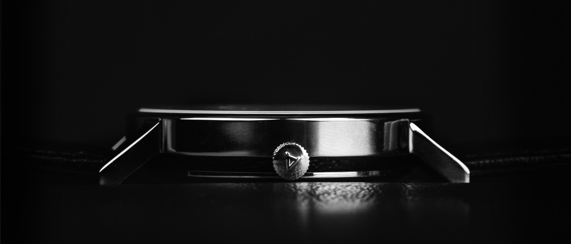 Steel Watch side View